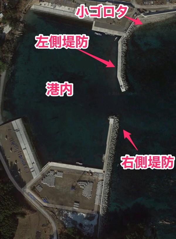 Google_マップ_根岬漁港