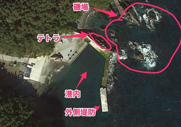 Google_マップ_大祝漁港